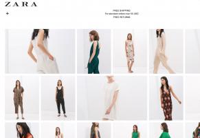 Zara estreia-se em Angola online através da sua loja global