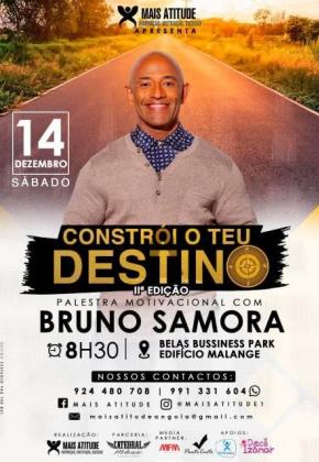 Palestra Motivacional Com Bruno Samora Ver Angola