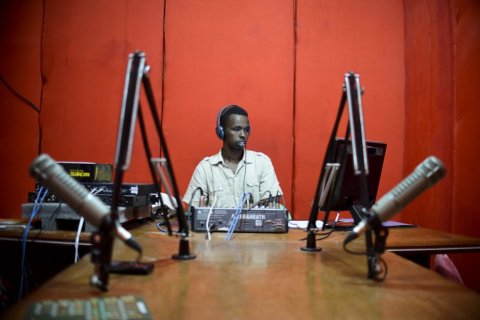 : Radio Shabelle is one of Mogadishu's most popular radio stations and has exposed itself to considerable danger in the past for actively taking a stance against the terrorist organiztion Al-Shabab. AU-UN IST PHOTO / TOBIN JONES.